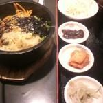 百済カルビ - 石焼ビビンバ 500円