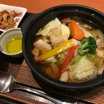 45161282 - 8種野菜のスープごはん 598円 (税込)