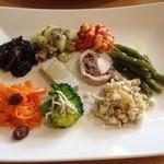 パオロ ロッシ - 前菜9種盛り合わせ