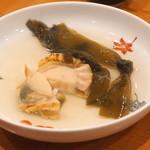 田中 - ほたて貝 と 昆布