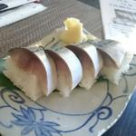 お食事茶屋 膳 - 極上鯖の寿司!極厚!!