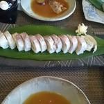 お食事茶屋 膳 - 店の看板メニュー花鯛寿司