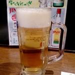 新橋シャモロック酒場 - 生ビール