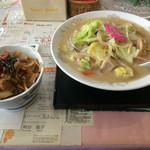 ジュン - ちゃんぽん&ミニ豚丼セット