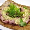 ル・モンサンミシェル - 料理写真:豚肉のロースト、グリビッシュソース