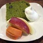 カフェレストラン きたら - 2015/12 セットのデザート