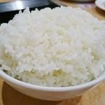 焼肉レストラン 食道苑 - 大ライス