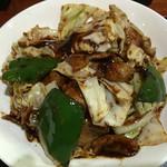 美華 - 回鍋肉アップ