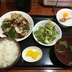 美華 - 回鍋肉定食