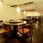 浜松四川飯店 - 円卓もご用意。人数に合わせてご利用頂けます。
