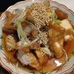 いけ田 - 今日のランチは油淋鶏。いけ田に来たらこれを食べなければ、です。いつも美味しい定番の味。ご馳走さまでした。
