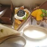45173189 - 期待外れのケーキ 全体的に甘さが強すぎバランスも悪い