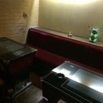 cafe SAWAYA - 禁煙席にこんな風景が!