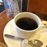 cafe SAWAYA - サイフォンで入れたコーヒー