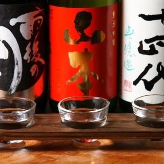 種類豊富な日本酒