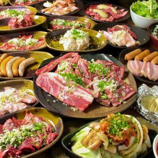 リーズナブルに楽しめる焼肉食べ放題☆