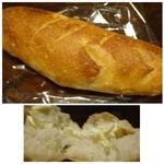 パン工房 マーマン - フロマージュ(140円)・・中には「クリームチーズ」が入り、噛みごたえのある生地でした。