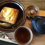 しょこら亭 - アップルパイと雪国紅茶