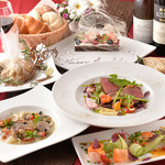 Restaurant Wao - 料理写真:アニバーサリーコース。特別な日のご利用にオススメです。(要予約)