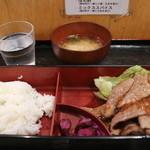 大井肉店 - カルビ定食