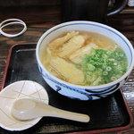 たけ屋 - ごぼう天うどん(400円)