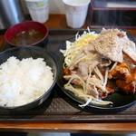 ごはんや元気 - 元気名物定食(並)1380円