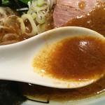 山王家 - こちらもスープは良い感じ