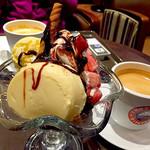 サンマルクカフェ - プリンパフェ ベトナムコーヒー
