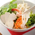 カフェ桃山78 - 野菜たっぷりフォー