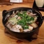 45184194 - 鱈の魚醤鍋〔15/12/4撮影〕…野菜・きのこたっぷり!