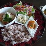 cafe mignon - mignonプレートランチセット♪1000円