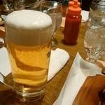 ビッグジョー - おビール600円