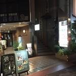 日本酒Bar やわらぎ - テナントビル外観