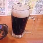 立飲みカドクラ - 黒生ビール