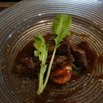 リストランテファンタジスタ - 熊本県産味彩牛肉のステーキ