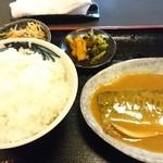 45186593 - サバ味噌煮定食 900円
