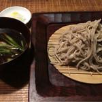 そば 月山 - 月膳(890円)+鴨汁(400円)
