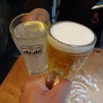 45187565 - 生ビールで乾杯!