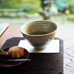 安寧 - 上生菓子付き抹茶