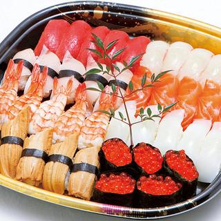 鮮度にこだわった板長自慢のお寿司