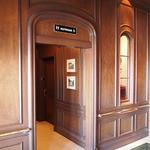 テディ・ルーズヴェルト・ラウンジ - お手洗いは3階にあります