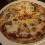 世界のビール B-Spot - 料理写真:シーフードピザ(Mサイズ\750)