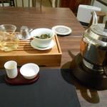 天藍 - 茶芸の始まり