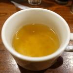 浪花オムライス - スープ