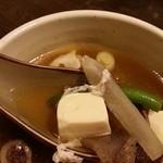 45194041 - けんちん汁は豆腐、根菜類 2015.12