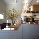 KINOE - キッチンに面したカウンター席