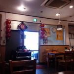 中華台湾屋台 三彩居 - 2015.11店内の配置が少し変わりました。