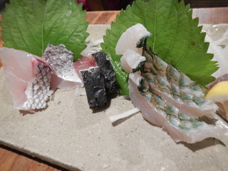 うりずん - 青魚3種刺身