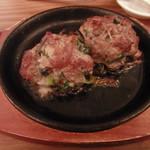 クラフトビアサーバーランド - 牛肉の落とし焼きハーフサイズ(600円)