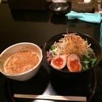 香味つけ蕎麦 七並 - よくばりたんたん麺(温)